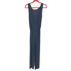 Lou & Grey Womens Jumpsuit Twist Keyhole Ankle M